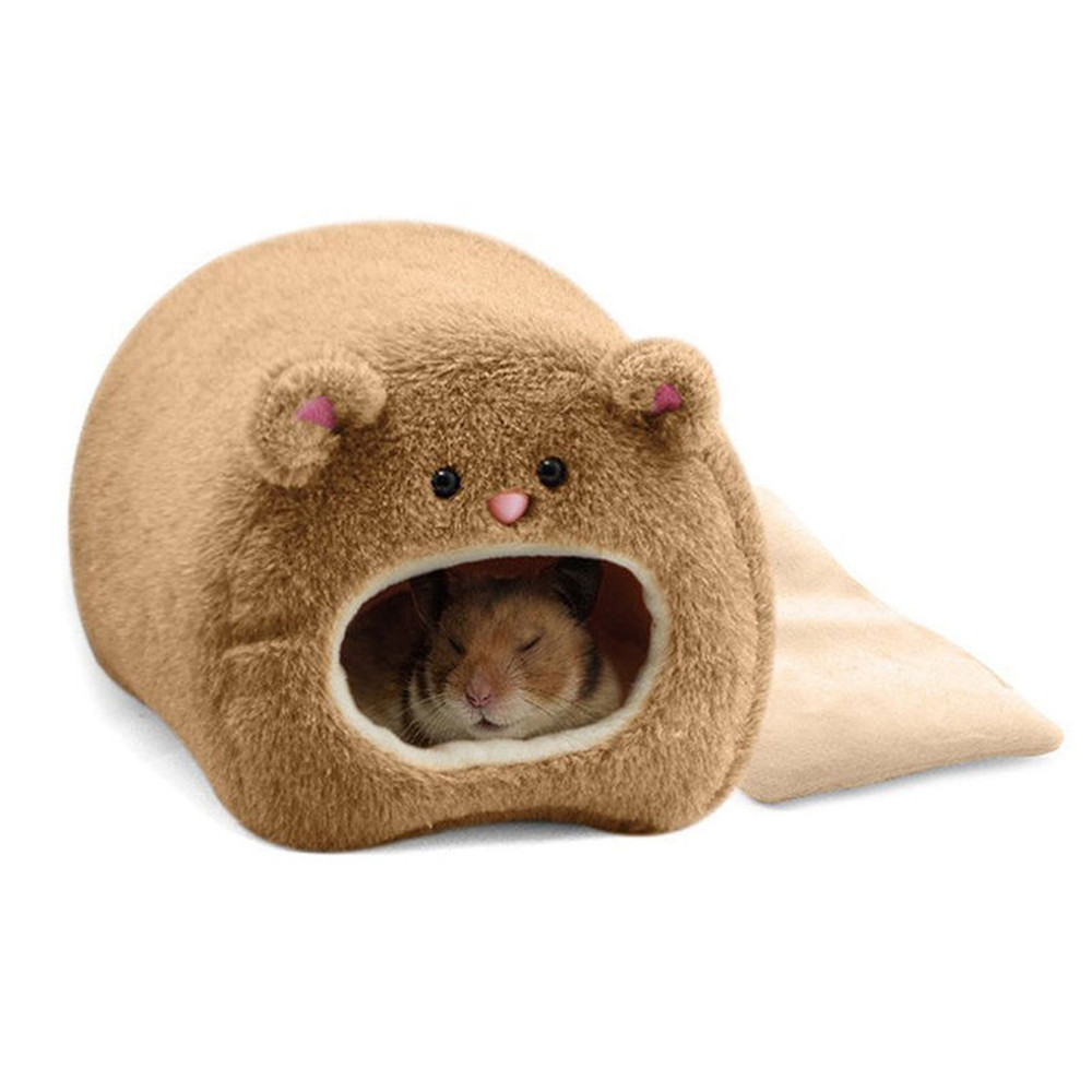Hamster Guinea Pig Squirrel Hedgehog Warm Hanging Bed Pet Plush Hamster Hanging House Rat Cage Toy Accessories