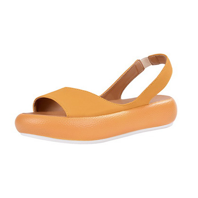LOOZYKIT Sandals Flats Female Shoes Women's-Bottomed Beach-Slip Hollow Casual Cool Torridity