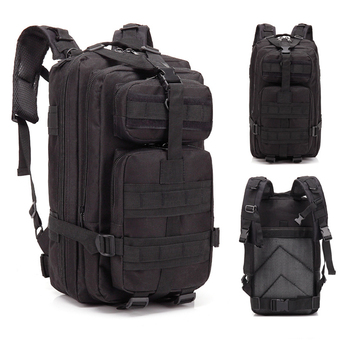 3P Tactical Backpack Military Molle Army Bag Outdoor Hiking Camping Rucksack Traveling Shoulder Bag About 30L men army waterproof chest bag military molle single shoulder bag crossbody bag for outdoor hiking camping hunting