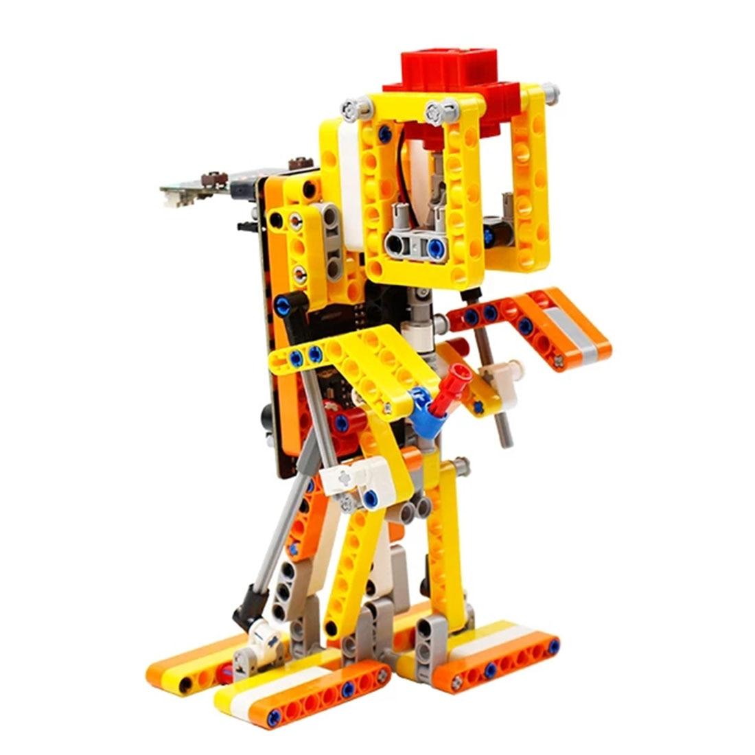 Program Intelligent Walking Robot Kit Steam Programming Education Robot For Micro:Bit(Including/Not Including Micro:Bit Board)