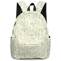 Lovely Plants Multipurpose Daypacks Soft And Comfortable Athletic Backpack St. Patrick's Day School Book Bags Laptop Backpacks
