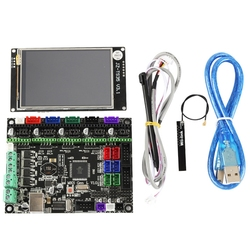 3D Printer Motherboard Kit Mks Gen L+3.5 Inch Full Color Wifi Screen Power Failure Continued To Play 9 Languages