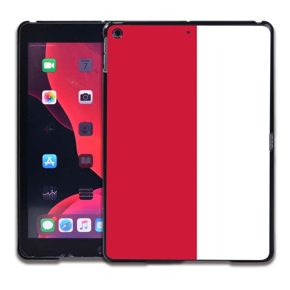 11.Polish flag Navy Blue Tablet Hard Back for Apple IPad 8 2020 8th Gen 10 2 A2270 A2428 Z2429 Z2430