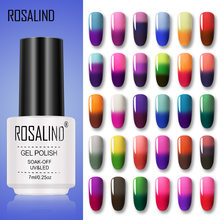 Rosalind Temperatuur Gel Nagellak Kleur Veranderende Hybrid Gel Vernissen Losweken Semi Permanente Nail Art Design Uv Gellak