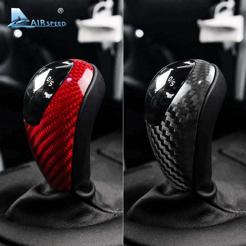 AIRSPEED для BMW M3 M5 M6, Углеволокно для BMW M3 M5 M6, наклейка s, ручка переключения рулевого механизма автомобиля, накладка, наклейка, аксессуары для вн...