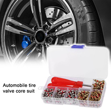 242Pcs Car A/C Air Conditioning R134a Valve Core Assortment+Remover Tool Kit Set Auto Replacement Parts Accessories New Auto