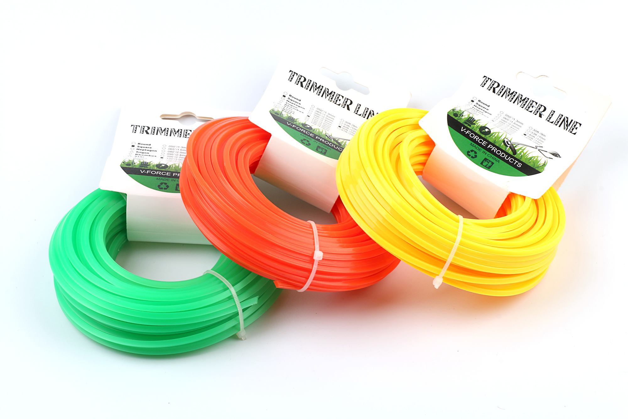 15 metres Professional strimmer cord line 2.5 mm square
