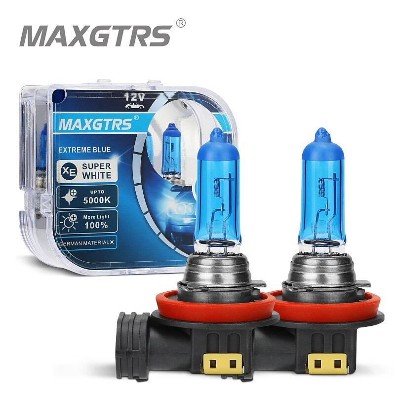 2 шсветильник, автомобильные ксеноновые галогенные лампы H7 H8 H11 9005 HB3 9006 HB4 880 881 H1 H3 5000K 100 Вт