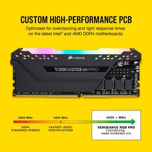 Image 5 - CORSAIR Vengeance RGB PRO DDR4 RAM 8GB 3000MHz DIMM Desktop Memory Support Motherboard 8g 16g ddr4 3200 3600Mhz rgb ram 16gb 32g