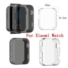 Мягкий ультратонкий Кристальный защитный чехол, полное покрытие для Xiaomi mi, умные часы, защитные аксессуары, оболочка для xiao mi Watch#1118