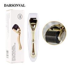 DARSONVAL DRS 540 Дерма ролик микро титановые иглы мезороллер микроиглы машина для ухода за кожей и тела