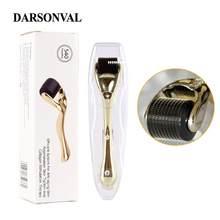 DARSONVAL-microagujas DRS 540 derma roller, máquina de microagujas mezoroller de titanio para cuidado de la piel y tratamiento corporal