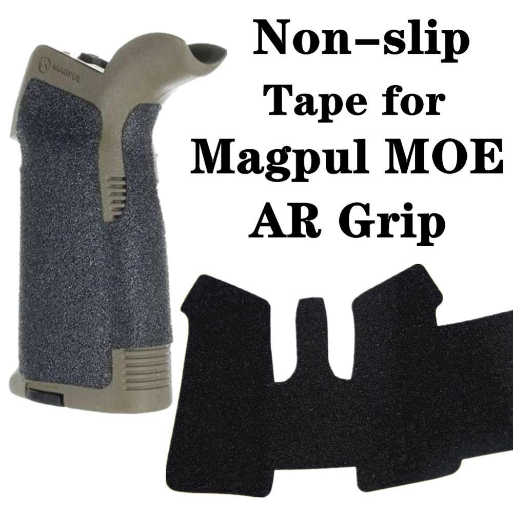 Non-slip Rubber Texture Grip Wrap Tape Glove For AR15 AK47 M4 M16 AK74 Magpul MOE AR Pistol Grip Airsoft Gun Hunting Accessories