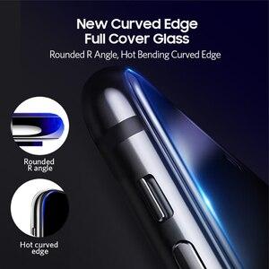 Image 5 - Benks vidrio templado curvo HD antiespía para iPhone, Protector de pantalla de privacidad completo, película frontal doblada, para XS MAX XR, 5,8 6,1 pulgadas