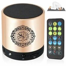 سمّاعات بلوتوث قارئ قرآن قرآن قرآن مسلم مدعم 8GB FM MP3 TF بطاقة راديو ريموت كنترول 15 لغة ترجمة