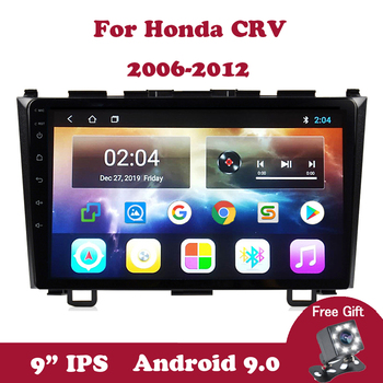 Android 9.0 Multimedia Player GPS Navigation Wifi For Honda Civic CR-V 3 2006-2012 9.0 IPS Car Radio Video Autoradio SWC TB image