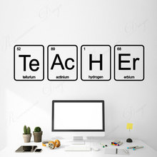 wall stickers school classroom quote phrase lettering words vinyl decals read room decor dorm removable murals wallpaper 4335 Teacher School Classroom Chemistry Laboratory Science Wall Stickers Vinyl Home Decor Reading Room Decals Murals Wallpaper 4340