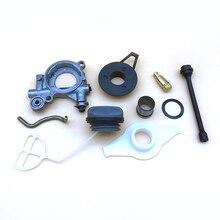 Масляный насос шланг червячный шестеренный фильтр комплект для ремонта для HUSQVARNA 372XP 372 371 365 362 бензопилы запасные части 503426701 501544102