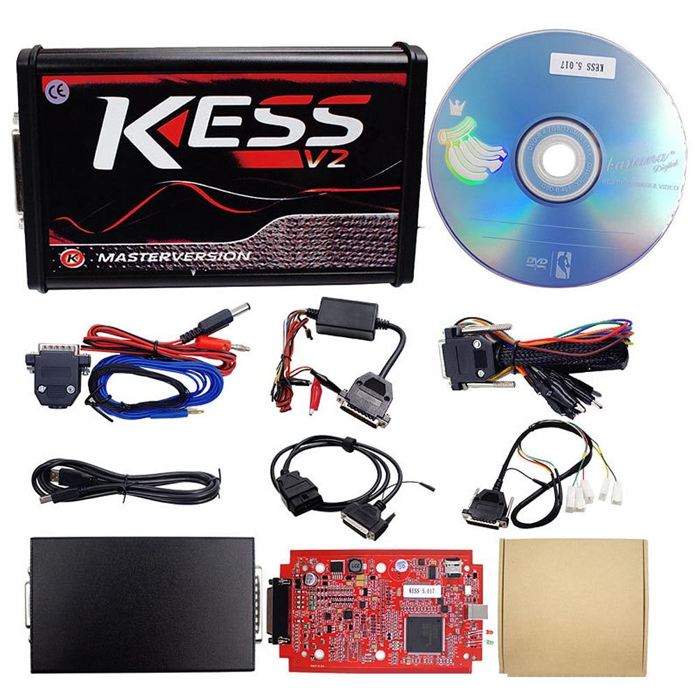 Kess V2 V5.017 Online Version Keine Tokens Begrenzung V2.47 Kess V2 OBD2 Manager Tuning Kit Auto Lkw ECU Programmierer Auto zubehör
