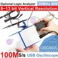 LOTO USB/осциллограф для ПК OSCA02  100 мс/с частотой дискретизации  полоса пропускания 35 МГц  для автомобилей  любителей  студентов  инженеров