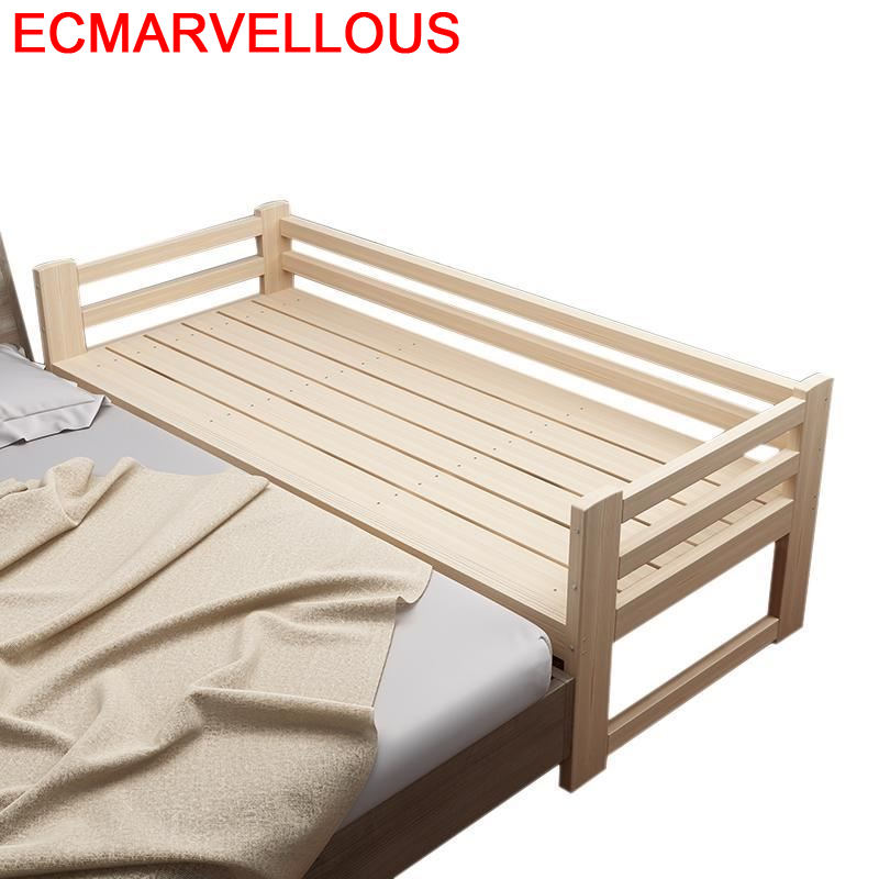 Toddler Baby Crib Meble Ranza Children De Dormitorio Bois Lit Enfant Wodden Cama Infantil Muebles Bedroom Furniture Kids Bed