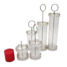 Форма для мыла или выпечки, инструменты для украшения свечей, восковые формы для изготовления DIY цилиндрических парафинов, инструменты для рукоделия