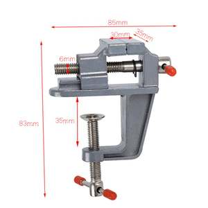 Vise Mini Bench-Clamp Mold Table Aluminium-Alloy 35MM for DIY Craft Fixed-Repair-Tool