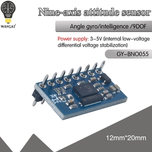 Image 1 - 絶対方向imu BNO055 ahrsブレイクアウトセンサーBNO 055 sip加速度計ジャイロスコープ三軸地磁気磁力計