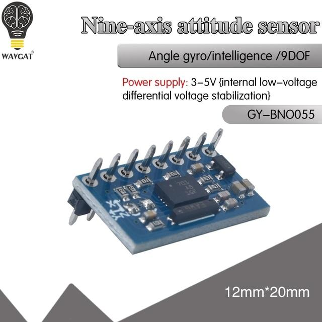絶対方向imu BNO055 ahrsブレイクアウトセンサーBNO 055 sip加速度計ジャイロスコープ三軸地磁気磁力計