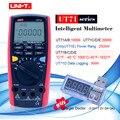 UNI-T UT71 серия Цифровой мультиметр Ture RMS AC DC измеритель Вольт Ампер Ом Емкость Темп тестер 40000 отсчетов 0.025% точность