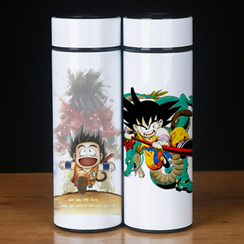 Dessin animé Dragon Ball fils Goku végéta Super Saiyan en acier inoxydable tasse thermique GK Statue PVC Figure recueillir modèle jouet M2133