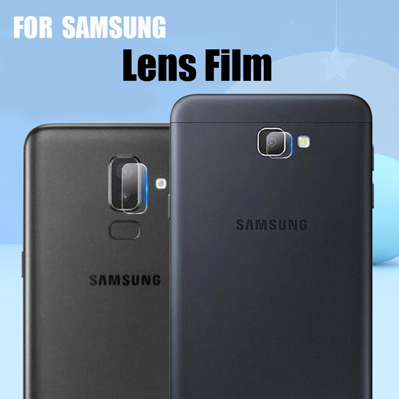 HD Back Camera Lens Tempered Glass For Samsung Galaxy J8 J7 J6 J4 Plus 2018 J7 Prime Protective Glass Screen Protect Lens Film in Phone Screen Protectors from Cellphones Telecommunications