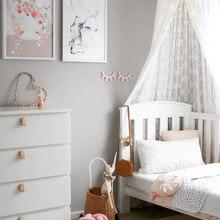 Decor-Props Bed-Tent Dome Children's White Nordic Lace Same-Style Hot-Sale Ins