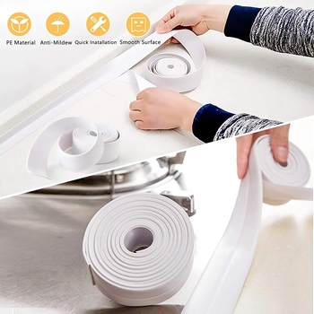 Sealing tape for bathroom and shower 2