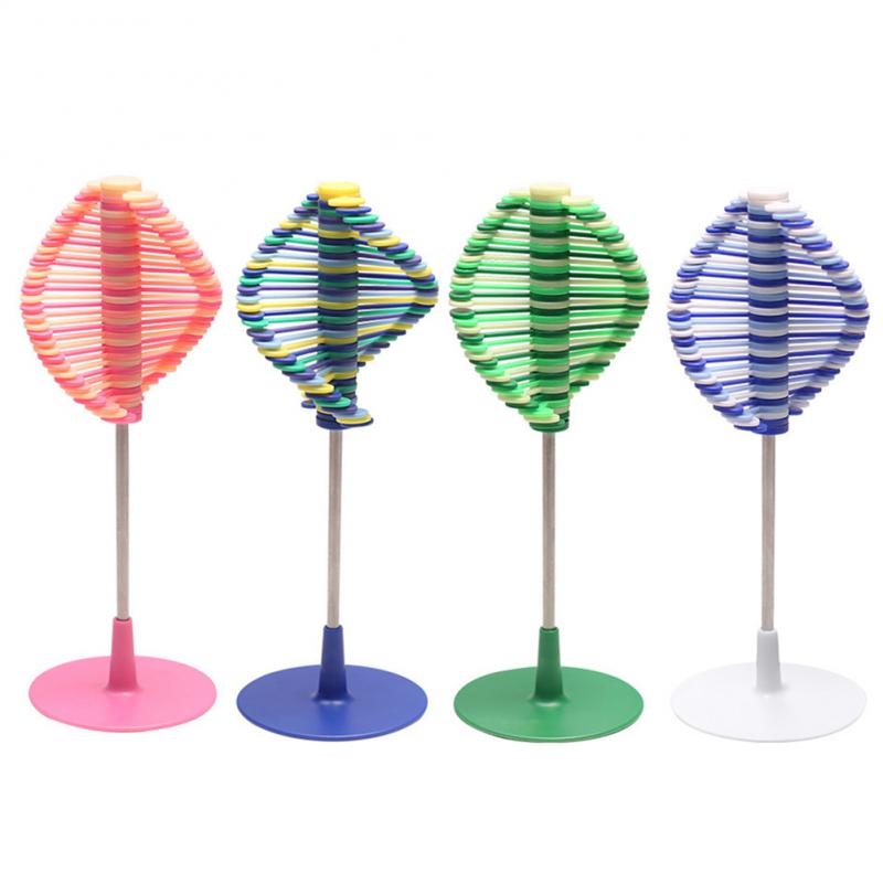 Saizhi Rotating Spin Toy Anxiety Stress Relief Office Toys Creative Decompression Toy Rotating Lollipop for kids gifts