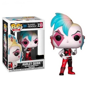FUNKO POP Suicide Squad Punk Joker Harleen Collection Action Figure Toys Vinyl Car Decoration Model for Kids Birthday Gifts 5