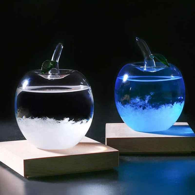 天気ボトルファッションクリエイティブスタイリッシュな天気レポートボトル装飾気象ディスプレイボトルガラス天気予報
