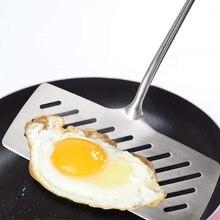 Лопаточка для рыбы из нержавеющей стали кухонные инструменты для приготовления шпатель жареная Лопата яичная рыба сковорода для готовки кухонная утварь гаджеты