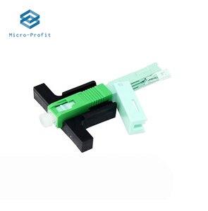 Image 2 - Conector rápido FTTH de fibra óptica integrado, fibra UPC SC, montaje de campo, conector óptico de un solo modo, 53MM