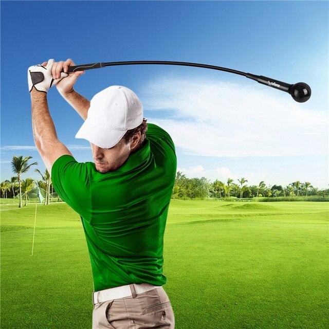 Golf Swing Trainer Warm-Up Stick Beginner Alignment Golf Clubs Gesture Correct Wrist Training Aids Tools Golf Accessories 2