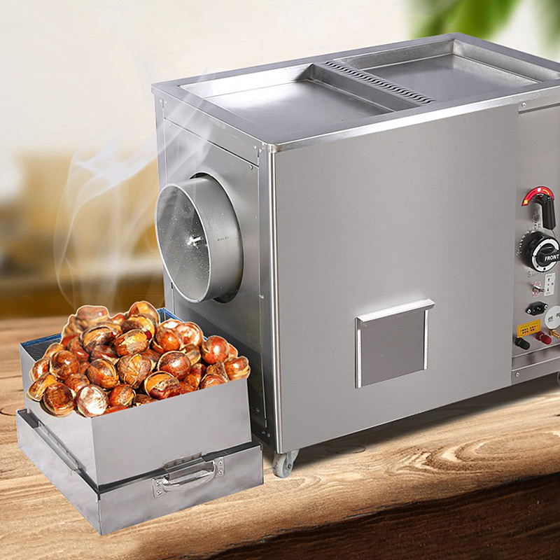 Automatic Baking Machine Gas or Electric Heating peanut sesame seeds Roaster|Food Processors| |  - title=