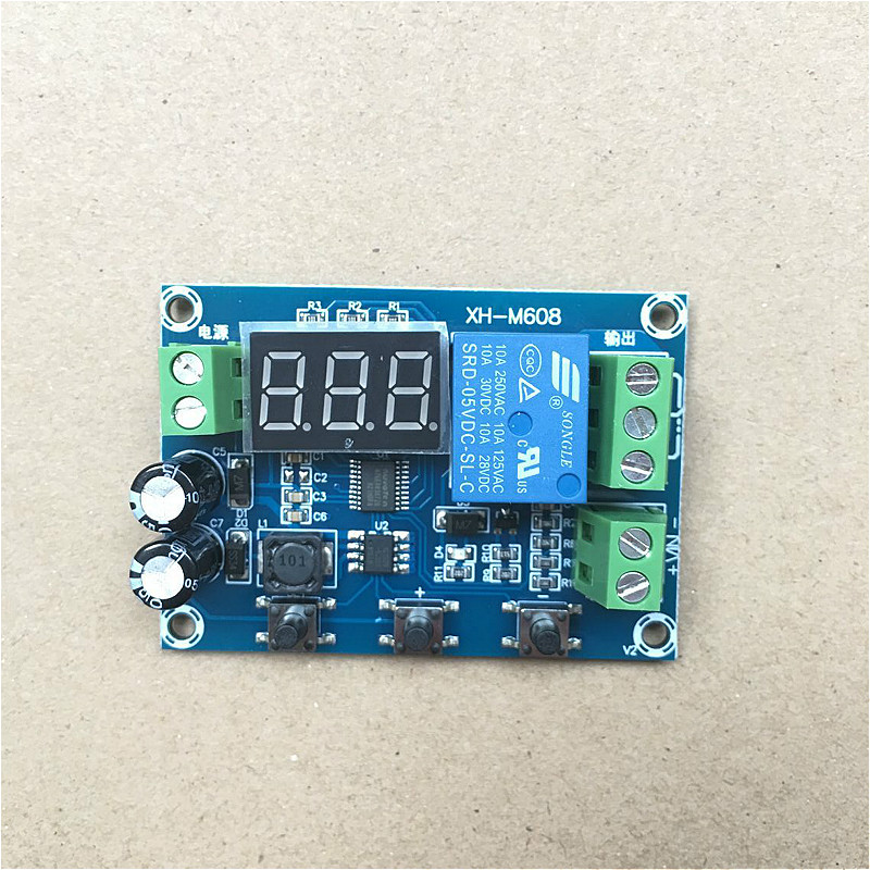 Xh-m608 Battery Charge / Discharge Module Integrated Voltage Meter
