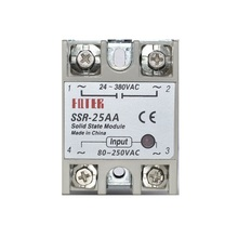 цена на Single-phase solid state relay SSR-10AA/SSR-25/SSR-40AA/SSR-60AA AC control AC AC control AC SSR white shell Single phase Solid