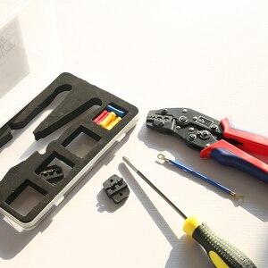 Image 3 - Обжимные плоскогубцы, набор многофункциональных обжимных штампов, инструменты для клемм Dupont, многофункциональный инструмент для электрического коннектора (подарок для клемм проводов)