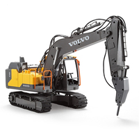 RC Car Double E Cada E568 003 2.4G 2CH 8km/h Remote Control Car Crawler Excavator 3 Type Engineer Vehicle Models Toy Car Gifts