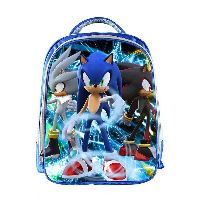 Hot Super Mario Bros Sonic School Bag For Teenager Boys Girls Kids Personized Schoolbag Supplier Children Hot Game Backpack