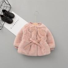 Теплый Бархатный свитер для маленьких девочек модная повседневная одежда принцессы с длинными рукавами для маленьких детей классическая блузка элегантное пальто