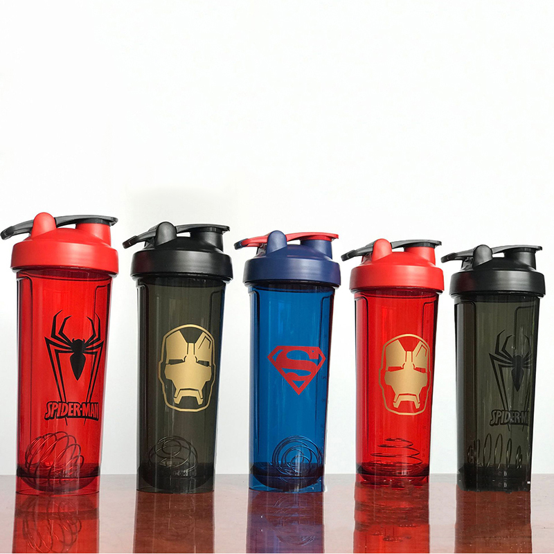 High-quanlity Shaker Bottle Sports Whey Protein Powder Mixing Bottle Leak Proof Fitness Water Bottle For Gym
