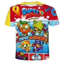 Super zings t camisa 4 5 6 7 8 9 10 11 12 13 14 anos do bebê meninos meninas camiseta crianças roupas criança menina topos t