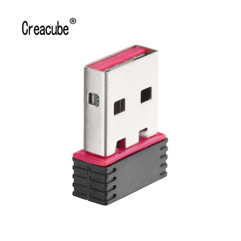 RTL8188 MINI Network Card USB WIFI Wireless 802.11n Adapter 150Mbps Accessories